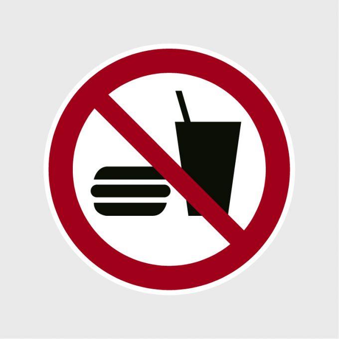 Sticker Eten en drinken verbodenArtboard 1-80