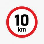 10km-per-uur-sticker-snelheid-maximale-snelheidslimiet
