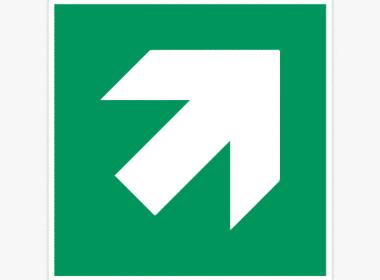 ISO-7010, E006 nooduitgang-sticker-groen-E005-veiligheidsstickers-pictiogrammen-boven
