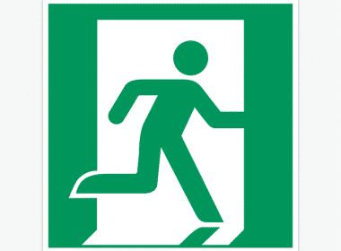 ISO-7010, E002-nooduitgang-sticker-groen-ISO-7010-E002